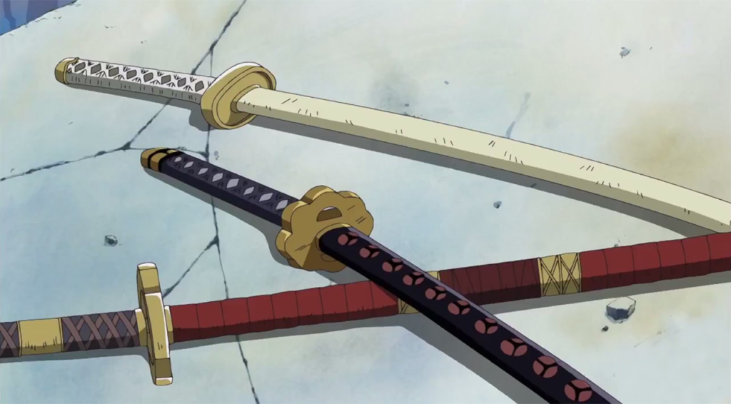 Zoro's swords
